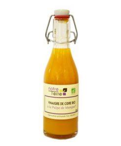 Vinaigre de cidre bio à la pulpe de mangue 25cl